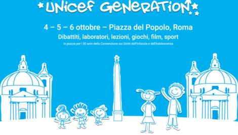 Unicef Generation 30 anni dalla Convenzione dei diritti dell'infanzia e dell'adolescenza