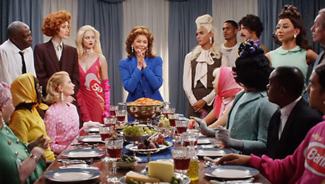 dinner's ready spot Barilla GCDS con Sofia Loren