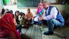 rischi per la lotta contro l'apolidia © UNHCR-HC-Bangladesh-Filippo Grandi