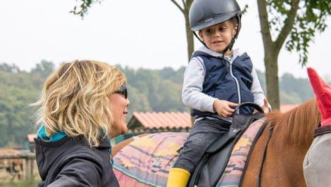 Adriana Funaro equitazione integrata per bambini azienda agricola assandri morimondo Equitabile