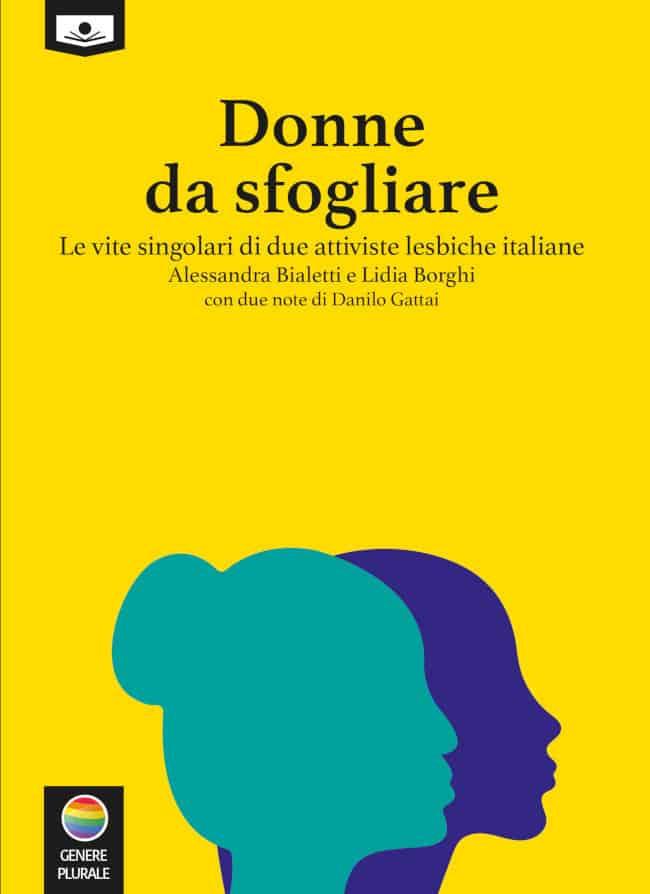 Donne da Sfogliare copertina libro Edda Billi - Maria Laura Annibali attiviste diritti lgbt lesbiche
