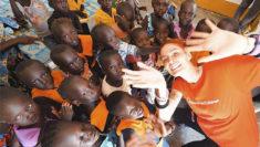 LaSabri, Sabrina Cereseto in Uganda con Save The Children