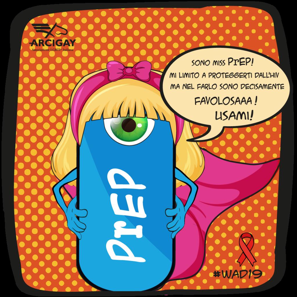 giornata mondiale per la lotta all'IADS campagna arcigay 1 dicembre 2019 strumenti prevenzione sesso sicuro (1)
