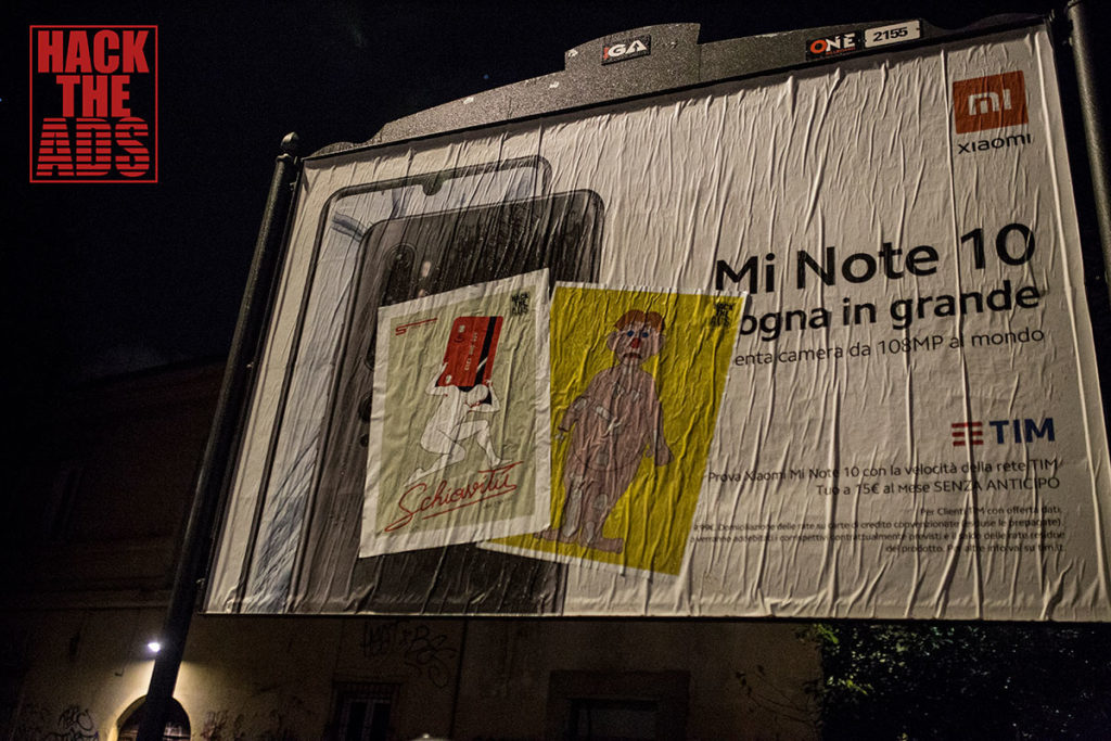 """Hack the Ads"" arriva l'advertising anti-consumismo greenpeace e scomodo"