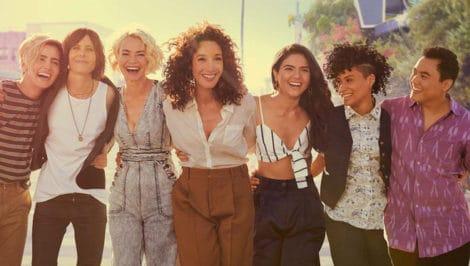 The L Word Generation Q telefilm lesbiche Jennifer Beals, Katherine Moennig e Leisha Hailey