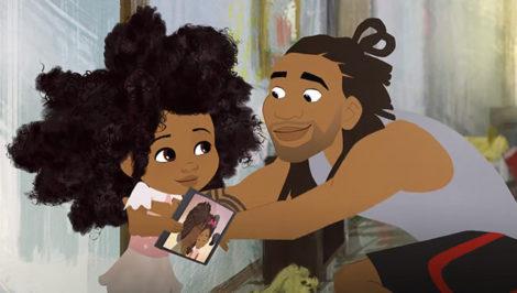 Hair Love cortometraggio candidato all'oscar come Miglior cortometraggio animato
