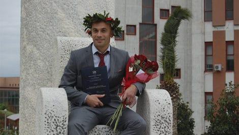 Laurea Moreno Di Rocco italiano rom