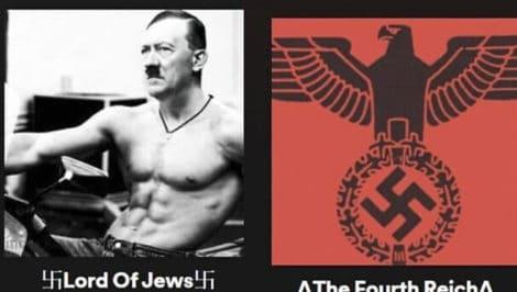 playlist Spotify nazismo