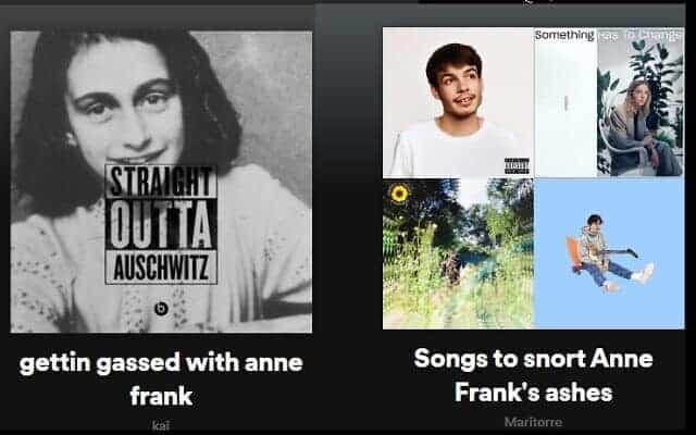 Spotify e il nazismo: spuntano le playlist che inneggiano Hitler contro Anna Frank