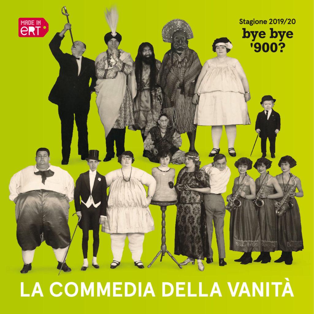ERT Emilia Romagna Teatro La Commedia della Vanità