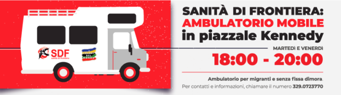 Ambulatorio mobile Sanità di Frontiera continua l'attività anche durate l'emergenza Varese