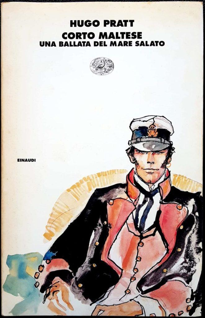 Corto Maltese copertina Una ballata del mare salato fumetto