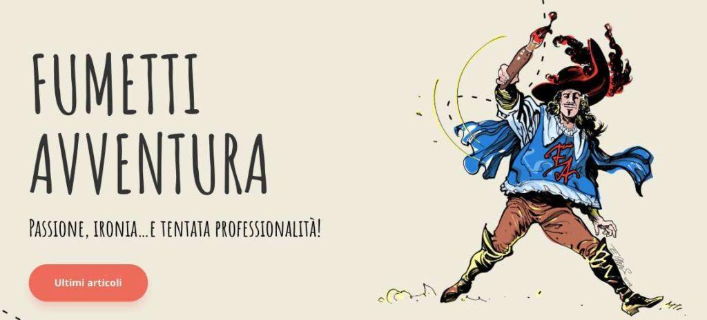 copertina blog Fumetti Avventura Paolo Maino