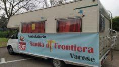 sanità di frontiera Varese ambultorio mobile camper