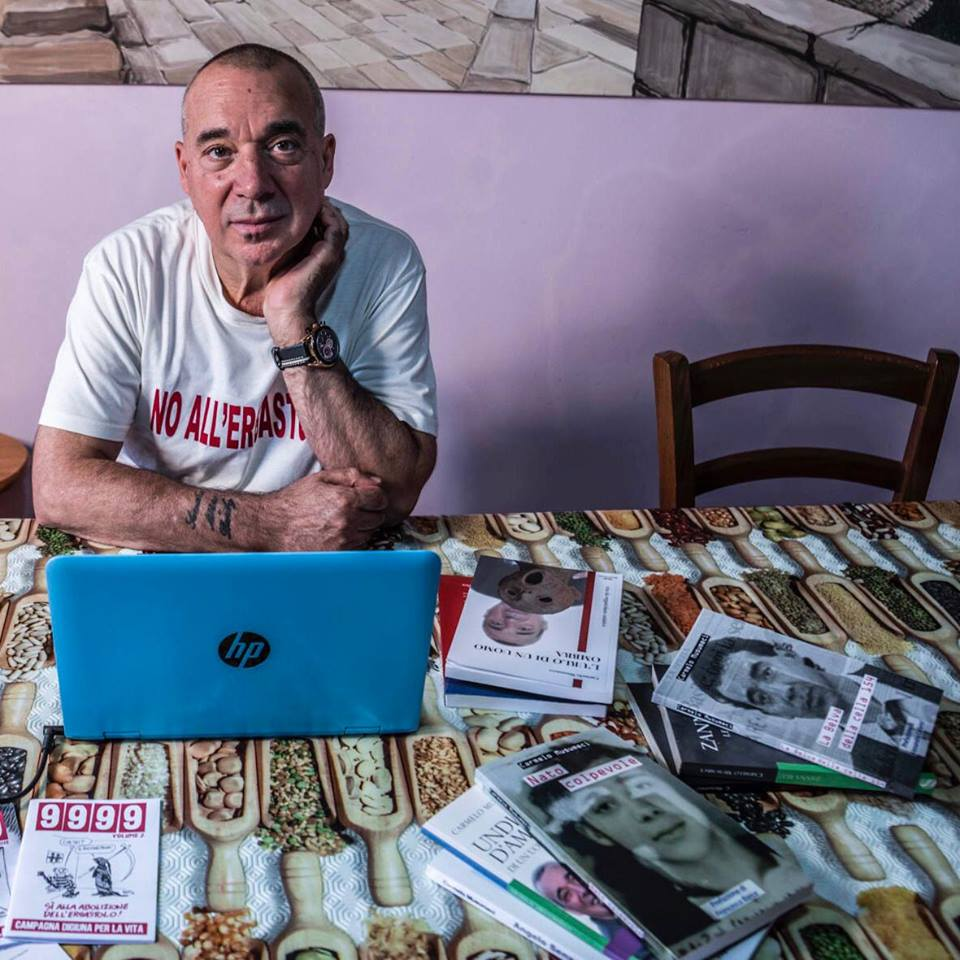 """Carmelo Musumeci """"Diventato colpevole"""" libro autobiografia. da ergastolo a libertà condizionata"""