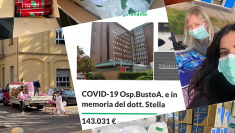 TeamSafeCities Busto Arsizio aiuti coronavirus 1