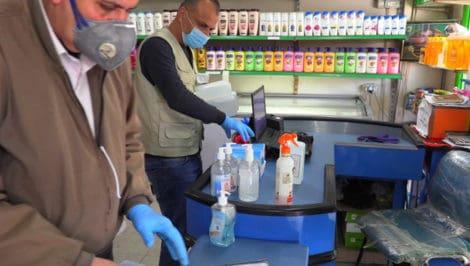 Distribuzione di kit igienici di prevenzione a Gaza_ credit Sami Alhaw_Oxfam (3)