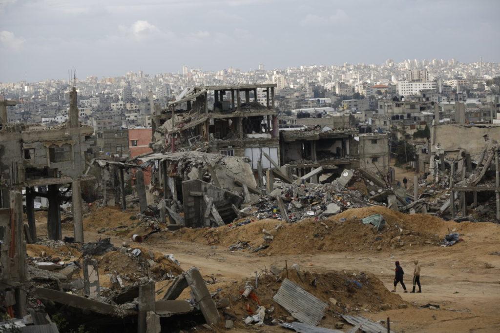 Gaza_Effetti bombardamenti israeliani_Anas Al Baba_91007