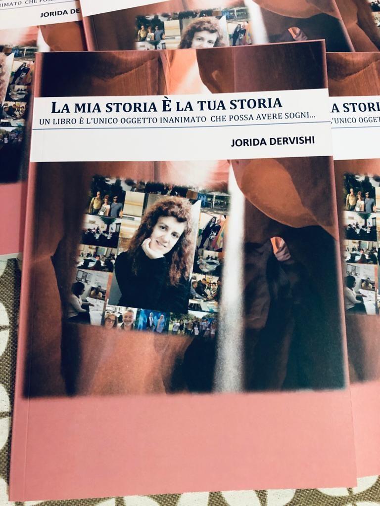 Jorida Dervishi copertina libro migranti La mia storia è la tua storia