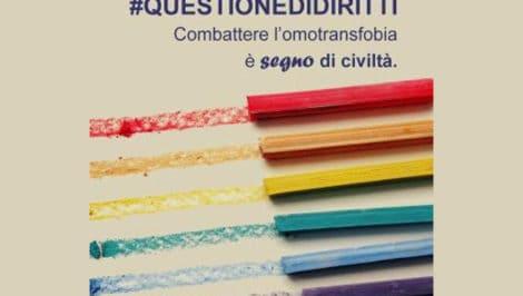 #questionedidiritti – Combattere l'omotransfobia è segno di civiltà campagna unar per giornata internazionale omotransfobia