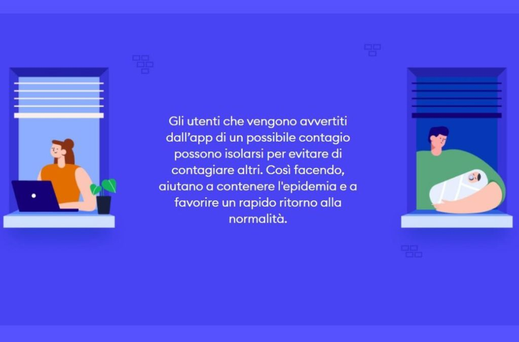 app immuni gender gap donna uomo immagine modificata