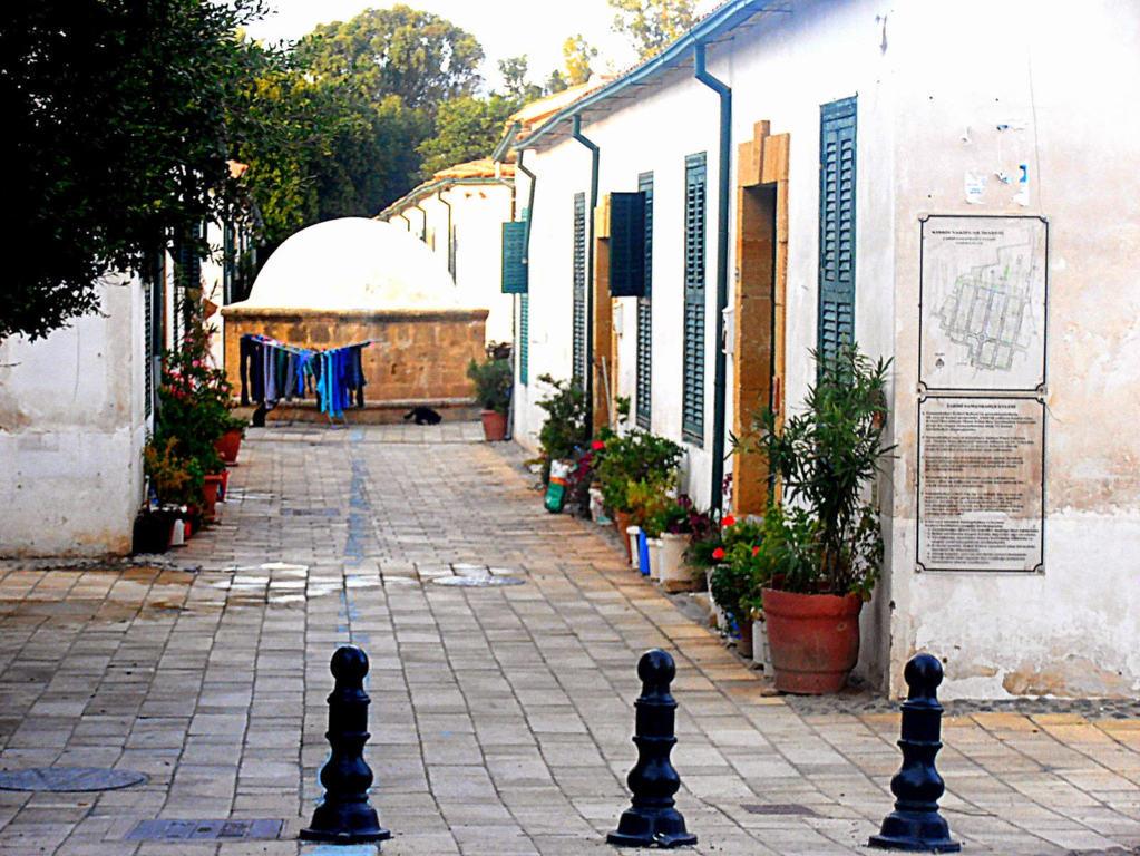 Ingresso del quartiere di Samanbahce, Nicosia, Cipro del Nord