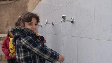 Nel 2018, Oxfam ha riabilitato le reti idriche e i servizi igienici di 16 scuole a Damasco, Dania Kareh - Oxfam