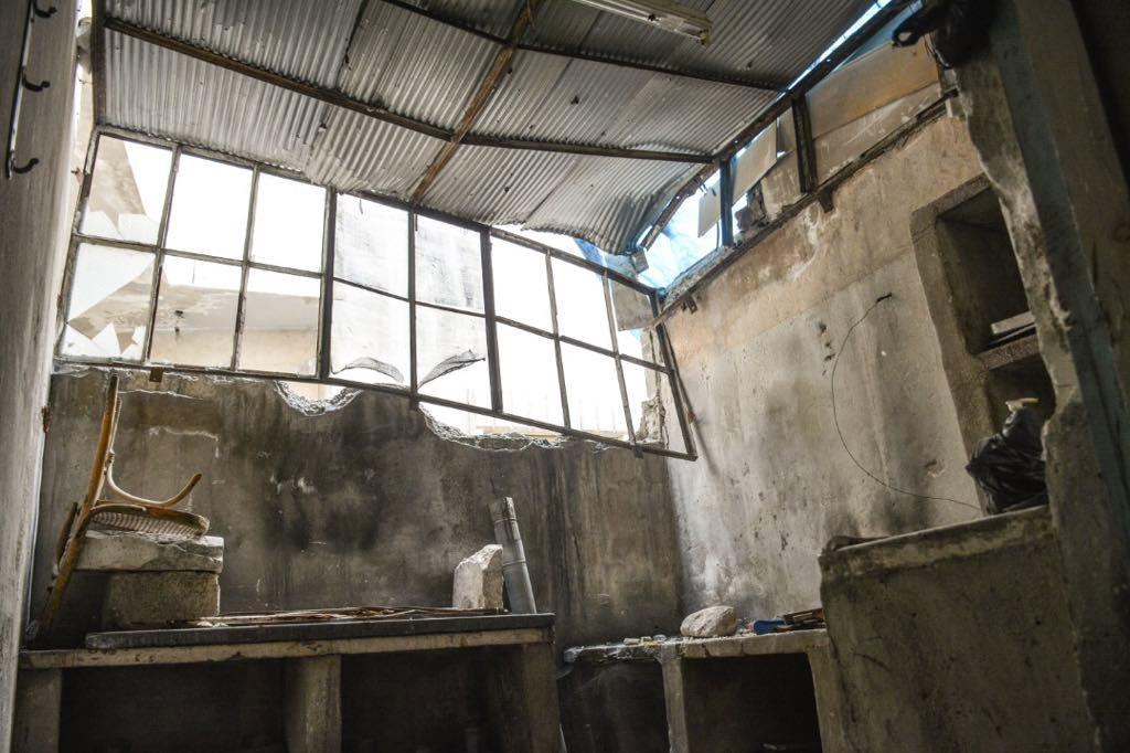 case distrutte Islam Mardini - Oxfam