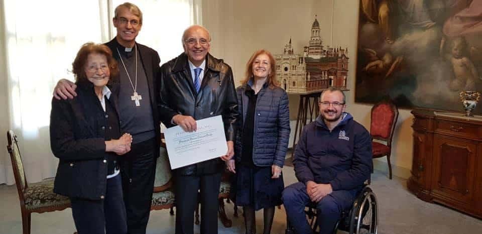 Francesco Maria Gabriele Mocchi direttore LV Gospel Choir