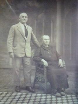 I bisnonni materni, il bisnonno Giuseppe di Padova e la bisnonna Albina di Verona, emigrati in Brasile nel 1897