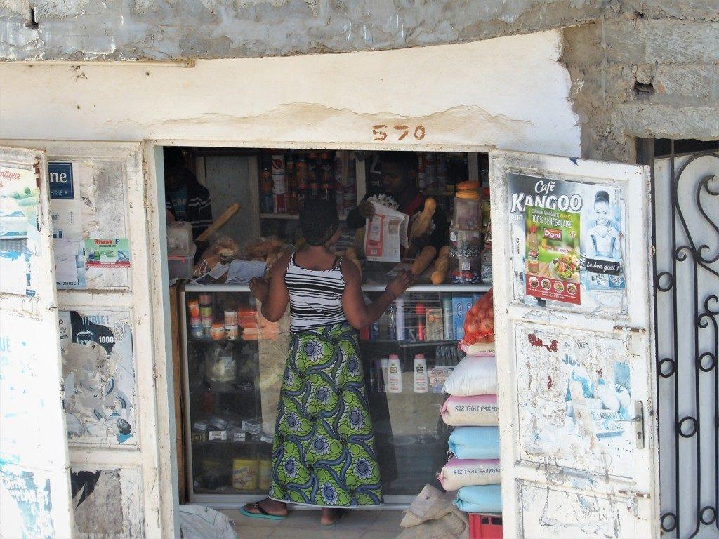 Negozio di Dakar, Senegal