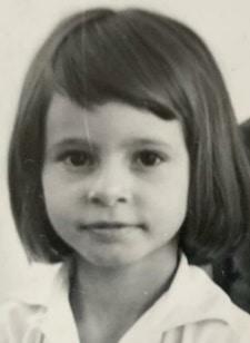 Rosanna a 7 anni