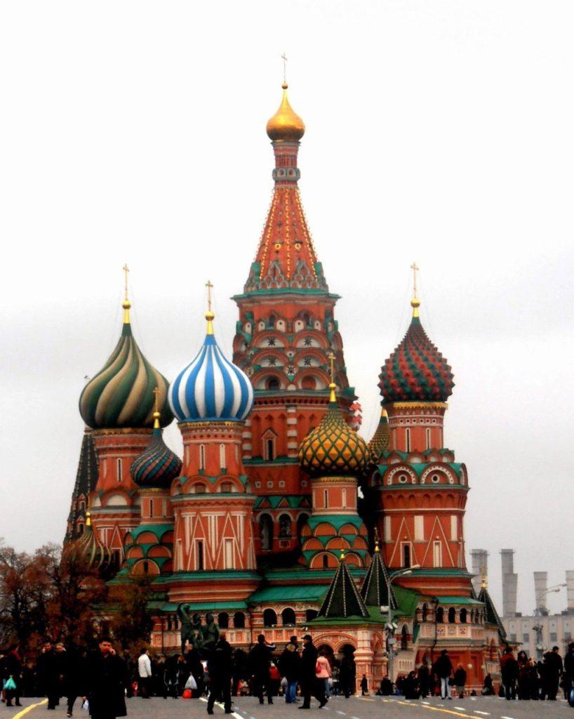 Cattedrale di San Basilio. Mosca, Russia