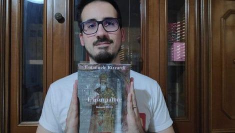 Emanuele Rizzardi romanzo storico l'Usurpatore