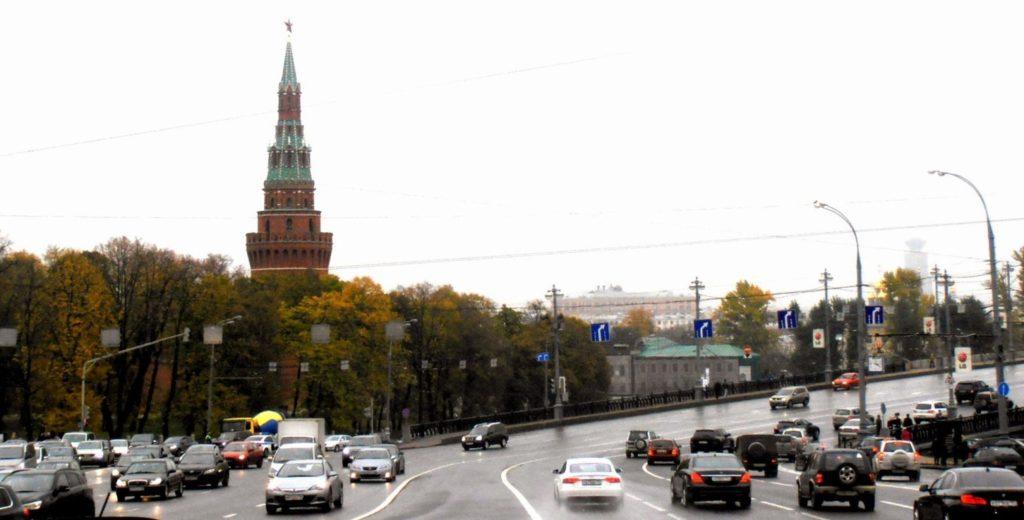 Una punta del Cremlino. Mosca, Russia