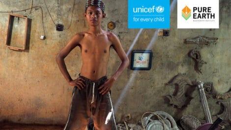 Rapporto dell'UNICEF La Verità Tossica (The Toxic Truth) per la Settimana internazionale per la prevenzione dell'avvelenamento da piombo