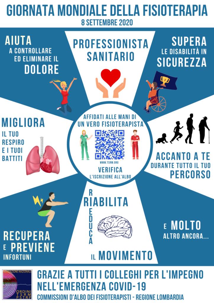 Giornata Mondiale Fisioterapia Albo Fisioterapisti di Bergamo