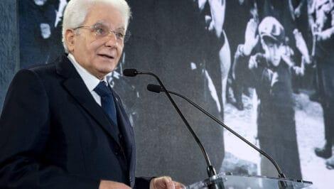 Sergio Mattarella Giorno della Memoria 27 gennaio 2021 giorno della memoria