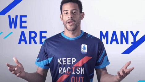 Keep Racism Out UNAR SERIE A CALCIO