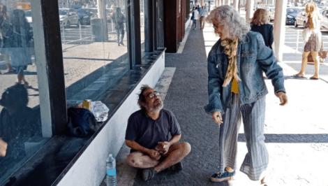 Maria Rosa Sabella, Il Viandante. Volontario è impare a «guardarsi negli occhi»