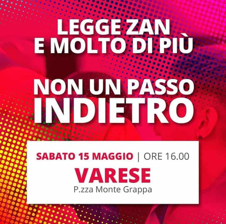 ddl Zan manifestazioni in tutta Italia non un passo indietro